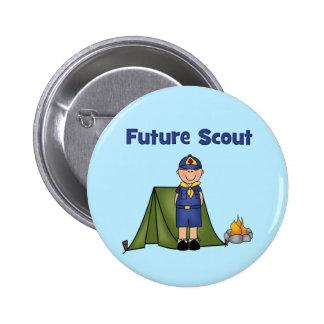 Boy scout futuro chapa redonda de 5 cm