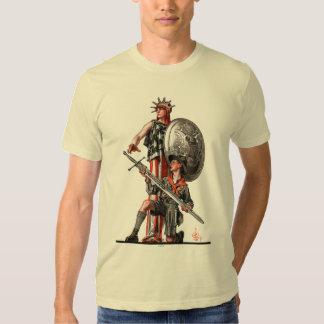Boy scout y libertad camiseta