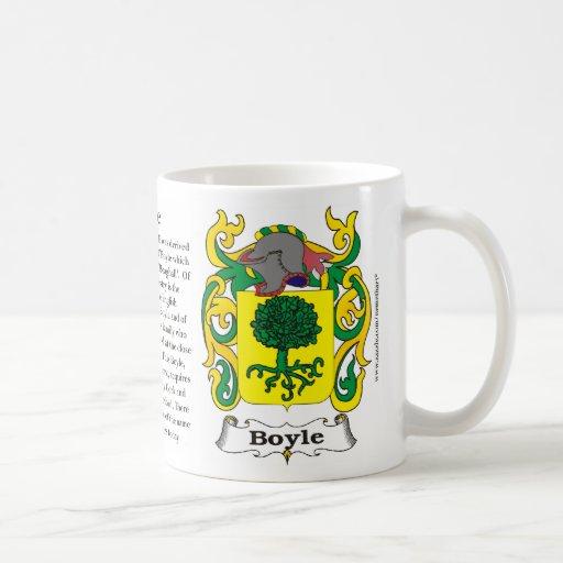 Boyle, historia, significado y la taza del escudo