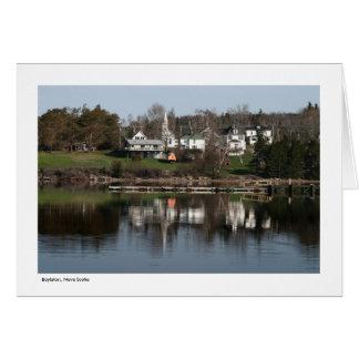 Boylston, Nueva Escocia - tarjeta de felicitación