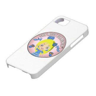 Pulseras de Flamenca de Soy Muuy Flamenca Rubia iPhone 5 Case-Mate Carcasa
