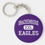 Brackenridge - Eagles - altos - San Antonio Tejas Llavero Personalizado