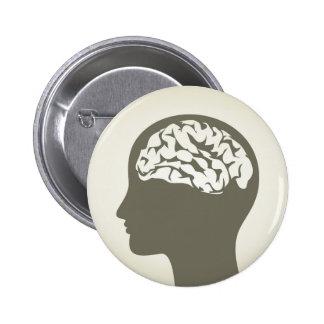 Brain5 Chapa Redonda De 5 Cm