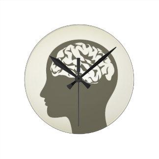 Brain5 Reloj Redondo Mediano