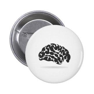 Brain6 Chapa Redonda De 5 Cm
