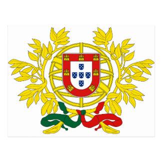 Brasão de Armas (escudo de armas) de Portugal Postal