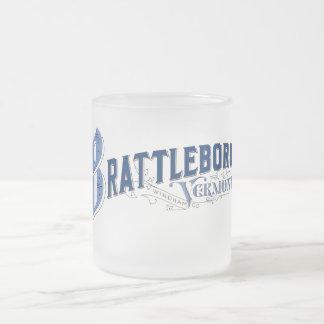 Brattleboro, 1896) tazas del logotipo de Vermont (