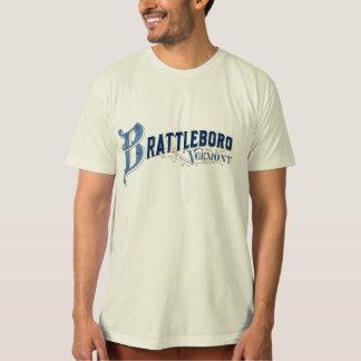 Brattleboro, logotipo 1896 de Vermont, el condado Camiseta