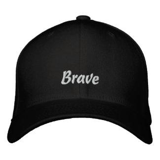 Brave/casquillo bordado loco gorra bordada