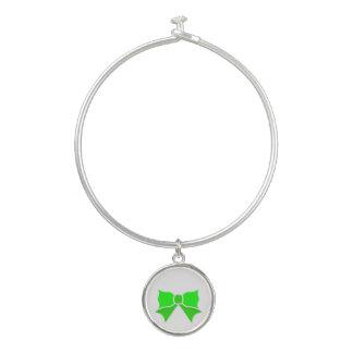 Brazalete Arco verde de moda