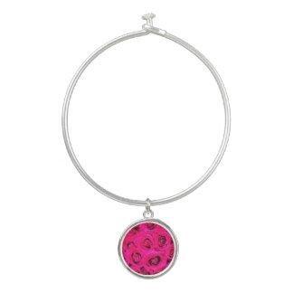 Brazalete Rosas púrpuras rosados románticos