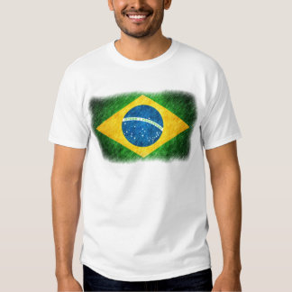 Brazilian_Flag_Pencil_Painting Camisetas