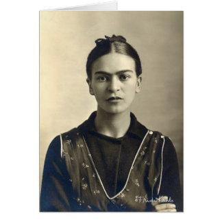 Brazos de Frida Kahlo cruzados Tarjeta