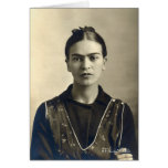 Brazos de Frida Kahlo cruzados Tarjeta De Felicitación