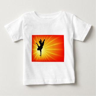 Break dance camiseta de bebé