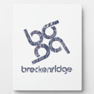 Breckenridge Placa Expositora