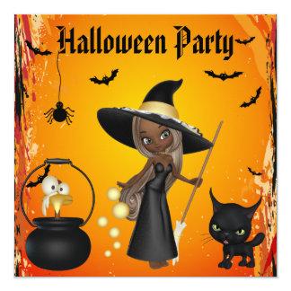 Brew afroamericano divertido Halloween de las Anuncios