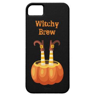 Brew lindo y fantasmagórico de Witchy Funda Para iPhone SE/5/5s