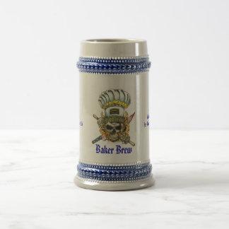 Brew Stein del panadero Jarra De Cerveza