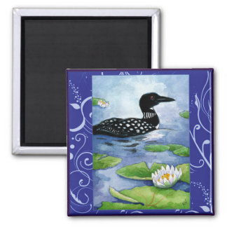 Bribón, aves del agua, naturaleza, imán