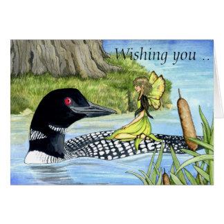Bribón de Lochie y la tarjeta de la hada de señora