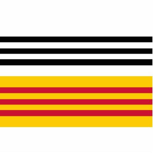 Bribón Zand de Op. Sys., bandera holandesa Esculturas Fotográficas