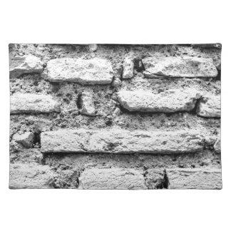 Brickwall rústico salvamanteles