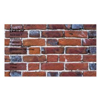 Brickwall Tarjeta De Negocio