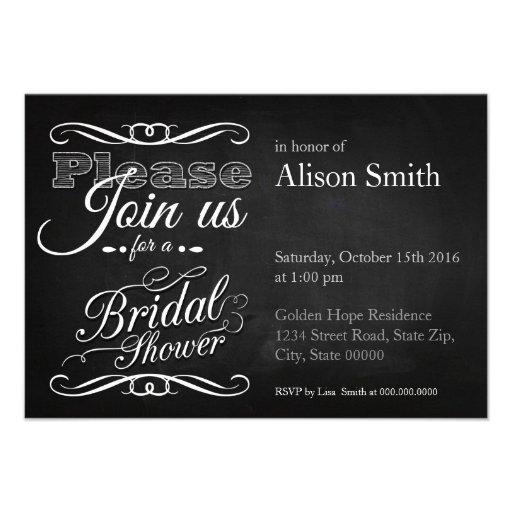 Bridal Shower Invitaciones Personalizada