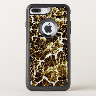 Brillantemente coloreado único refresqúese funda commuter de OtterBox para iPhone 8 plus/7 pl