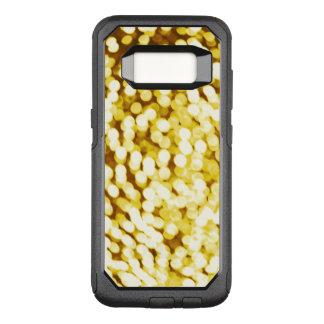 Brillo Bokeh del oro Funda Otterbox Commuter Para Samsung Galaxy S8