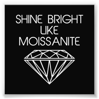 Brillo brillante como Moissanite Fotos