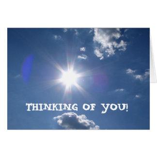 ¡Brillo de Sun, PENSANDO EN USTED! - Modificado pa Felicitaciones