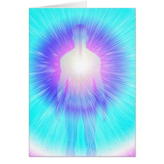 Brillo del alma tarjeta de felicitación