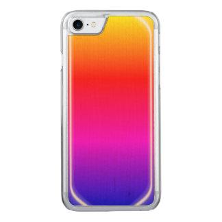 Brillo del arco iris funda para iPhone 7 de carved
