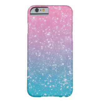 Brillo en colores pastel de Ombre Funda De iPhone 6 Barely There