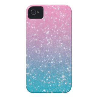 Brillo en colores pastel de Ombre Funda Para iPhone 4 De Case-Mate