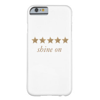 brillo en el caso funda barely there iPhone 6