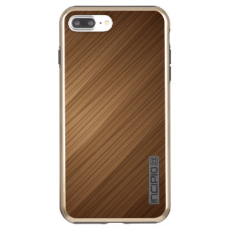 Brillo más de DualPro del iPhone 7 de Brown, oro Funda DualPro Shine De Incipio Para iPhone 8 Plus/