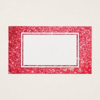 Brillo rojo del navidad, tarjeta del