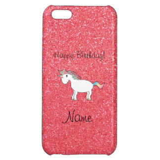 Brillo rosa claro del unicornio conocido del cumpl