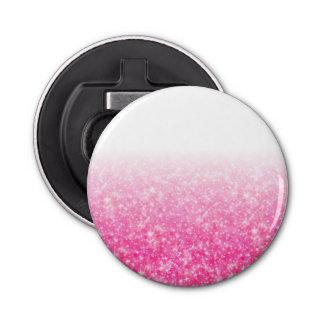 Brillo rosado brillante Ombre de los chicas Abrebotellas