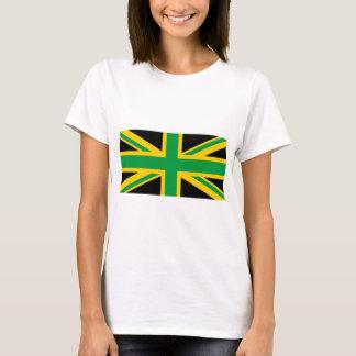 Británico - Union Jack jamaicano Camiseta