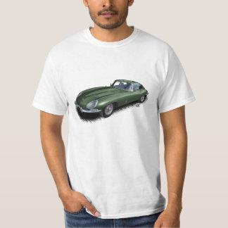 Británicos que compiten con la camiseta verde del
