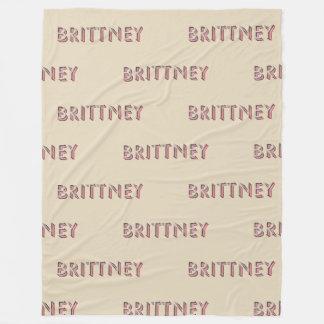 Brittney, manta grande