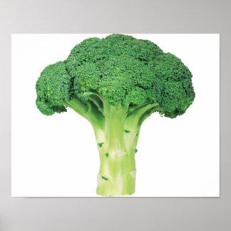 """Bróculi 14"""" x 11"""", papel de poster del valor"""