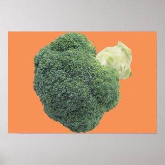 """Bróculi 19"""" x 13"""", papel de poster del valor"""