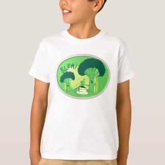 Bróculi de Bleh que rechaza la torta Camiseta