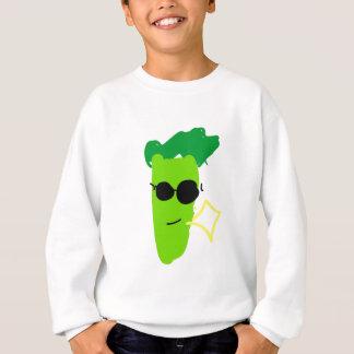 Bróculi fresco sudadera