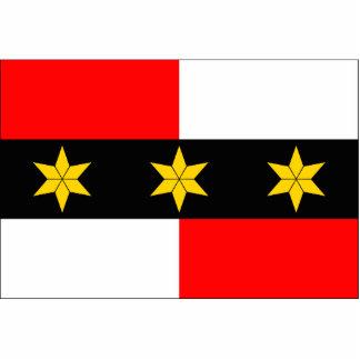 Brodek U Prostejova CZ bandera de la República Ch Esculturas Fotográficas